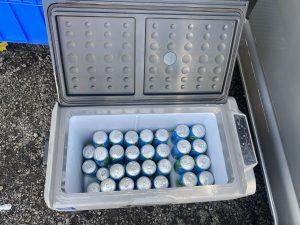 60公升超大冰箱可冷藏和冷凍