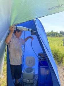 野營專用行動馬桶